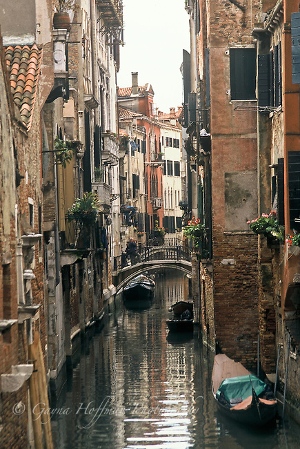 Canal in Venice, Italy,