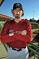Feb 25, 2010; Kissimmee, FL, USA; The Houston Astros pitcher Gary Majewski (56) during photoday at Osceola County Stadium. Mandatory Credit: Tomasso De Rosa/ Four Seam Images