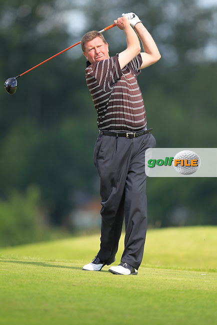 Eddie Doyle (Natural) on the 6th tee during the Johnston Mooney &amp; O'Brien PGA Challenge Round 1 at Carton House Golf Club  7th August 2013 <br /> Picture:  Thos Caffrey / www.golffile.ie