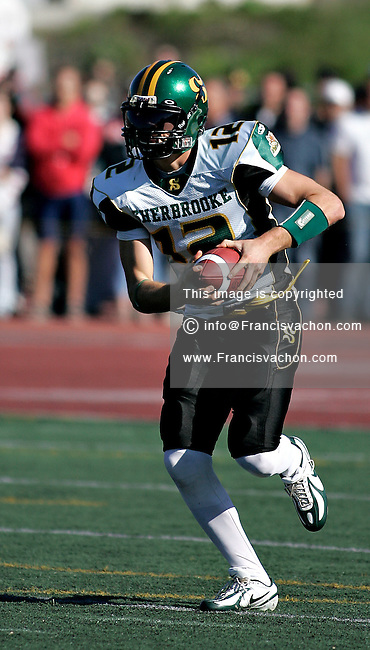 CIS football, Sherbrooke Vert & Or #12 Jean-Philippe Shoiry