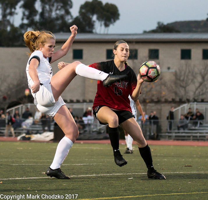 JSerra Catholic soccer vs. Rosary High School.