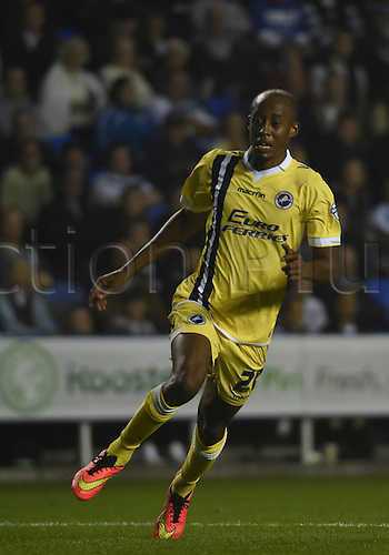 16.09.2014.  Reading, England. Sky Bet Championship. Reading versus Millwall. Abdou in action