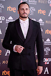 Asier Etxeandia attends to the Red Carpet of the Goya Awards 2017 at Madrid Marriott Auditorium Hotel in Madrid, Spain. February 04, 2017. (ALTERPHOTOS/BorjaB.Hojas)