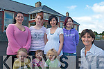 CHILDCARE: Announcing details of the new after-school service to be provided at Listry Community Childcare Centre on Friday last were, front l-r: Stephen Murphy, Leah Brennan, Calvin O'Connor. Back l-r: Staff members Michelle Coffey, Maria O'Sullivan, Crystal Gleeson (Deputy Manager), Joanne O'Connor and Lorraine Fleming (Centre Manager).   Copyright Kerry's Eye 2008