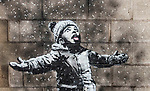191218  Banksy graffiti at Port Talbot