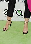 BURBANK, CA- OCTOBER 18: Actress Stana Katic (shoe detail) at the 2014 Environmental Media Awards at Warner Bros. Studios on October 18, 2014 in Burbank, California.