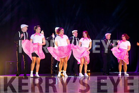 The contestants in action at the Killarney Strictly Come Dancing in the INEC on Friday night