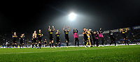 191030 -- BRESCIA, Oct. 30, 2019 Xinhua -- FC Inter s players celebrate at the end of a Serie A soccer match between Brescia and FC Inter in Brescia, Italy, Oct 29, 2019. Photo by Alberto Lingria/Xinhua SPITALY-BRESCIA-SOCCER-SERIE A-INTER MILAN VS BRESCIA PUBLICATIONxNOTxINxCHN <br /> Brescia 29-10-2019 Stadio Mario Rigamonti <br /> Football Serie A 2019/2020 <br /> Brescia - FC Internazionale <br /> Photo Alberto Lingria / Xinhua / Imago  / Insidefoto