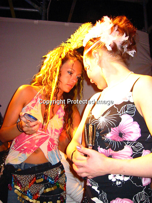 **EXCLUSIVE**<br />Make up Artist<br />Cirque Du Soleil 20th Anniversary &amp; Grand Prix du Montreal Post Party<br />Mel&rsquo;s Studios<br />St. Hubert, Montreal, Canada<br />Sunday, June, 13, 2004<br />Photo By Celebrityvibe.com/Photovibe.com, New York, USA, Phone 212 410 5354, email:sales@celebrityvibe.com