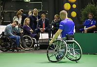 Februari 12, 2015, Netherlands, Rotterdam, Ahoy, ABN AMRO World Tennis Tournament, Maikel Scheffers (NED)<br /> Photo: Tennisimages/Henk Koster