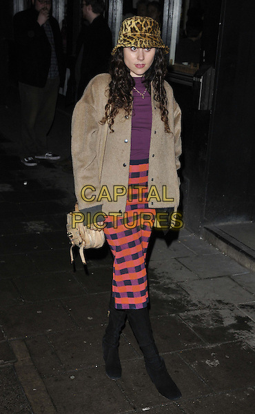 LONDON, ENGLAND - FEBRUARY 24: Eliza Doolittle attends the &quot;The A-Z of Mrs P&quot; press night, Southwark Playhouse Theatre, Newington Causeway, on Monday February 24, 2014 in London, England, UK.<br /> CAP/CAN<br /> &copy;Can Nguyen/Capital Pictures