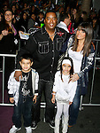 "HOLLYWOOD, CA. - February 24: Producer Johnny Wright and family arrive at the Los Angeles premiere of ""Jonas Brothers: The 3D Concert Experience"" at the El Capitan Theatre on February 24, 2009 in Los Angeles, California."