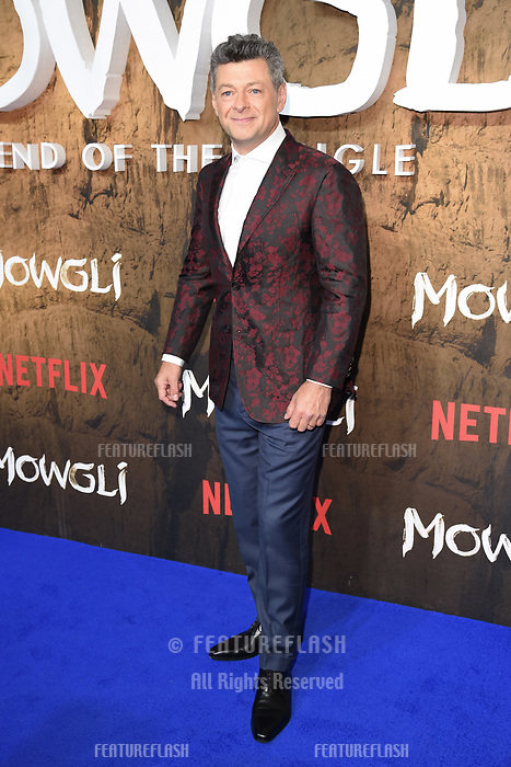 LONDON, UK. December 04, 2018: Andy Serkis at the&quot;Mowgli: Legend of the Jungle&quot; premiere at the Curzon Mayfair, London.<br /> Picture: Steve Vas/Featureflash
