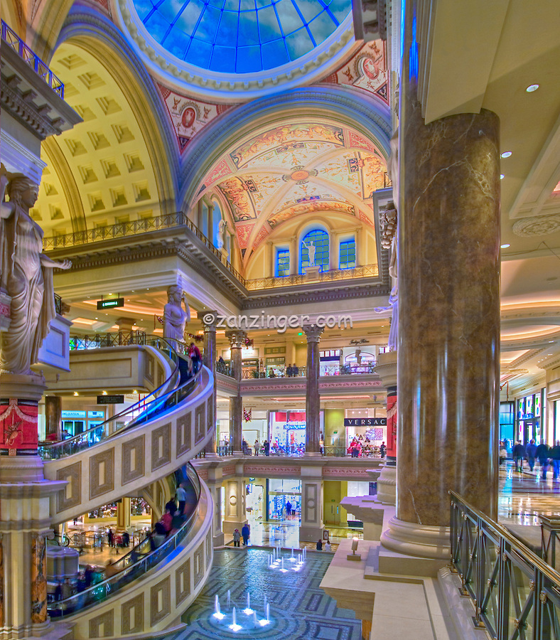 Caesars Palace, Forum Shops, Interior, Las Vegas Nevada