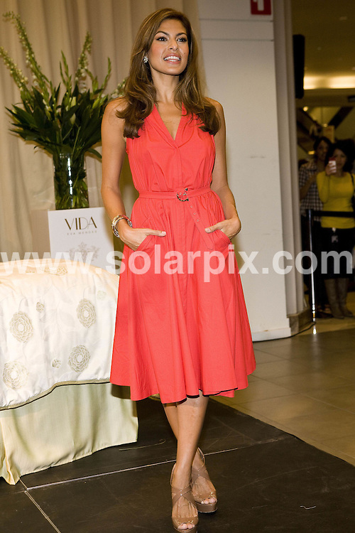 "**ALL ROUND PICTURES FROM SOLARPIX.COM**.**SYNDICATION RIGHTS FOR UK, AUSTRALIA, DENMARK, PORTUGAL, S. AFRICA, SPAIN & DUBAI (U.A.E) & ASIA (EXCLUDING JAPAN) ONLY**.Eva Mendes Promotes Her Home Decor Brand ""Vida"" at Sears Toronto Eaton Centre, Toronto, Canada, 17 September 2010.This pic: Eva Mendes.JOB REF: 12132  PHZ wong DATE: 17_09_2010.**MUST CREDIT SOLARPIX.COM OR DOUBLE FEE WILL BE CHARGED**.**MUST NOTIFY SOLARPIX OF ONLINE USAGE**.**CALL US ON: +34 952 811 768 or LOW RATE FROM UK 0844 617 7637**"