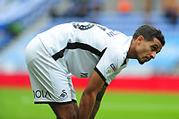 Kyle Naughton of Swansea City during the Sky Bet Championship match between Wigan Athletic and Swansea City at The DW Stadium in Wigan, England, UK. Saturday 2 November 2019