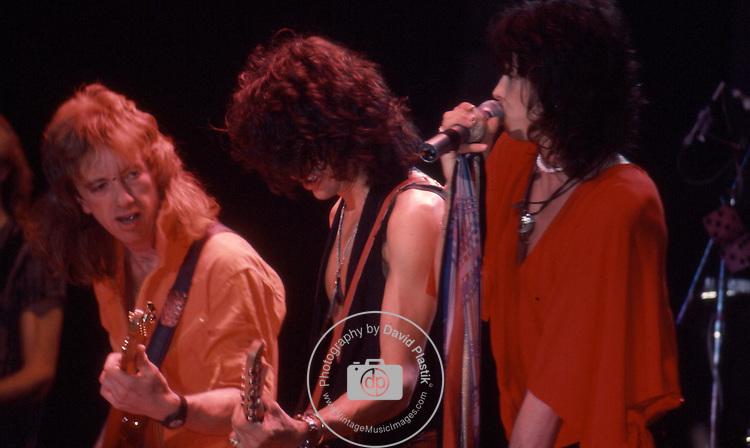 Aerosmith, Steven Tyler, Joe Perry, Brad Whitford,