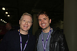 Anthony Rapp - Rent, If/Then and James Snyder - If/Then - Broadway Con 2018 at the Javits Center, New York City, New York on January 27, 2018. (Photo by Sue Coflin/Max Photo)