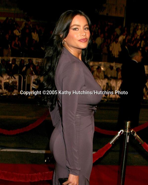 Sofia Vergara.Get Rich or Die Trying Premiere.Grauman's Chinese Theater.Los Angeles, CA.November 2, 2005.©2005 Kathy Hutchins / Hutchins Photo