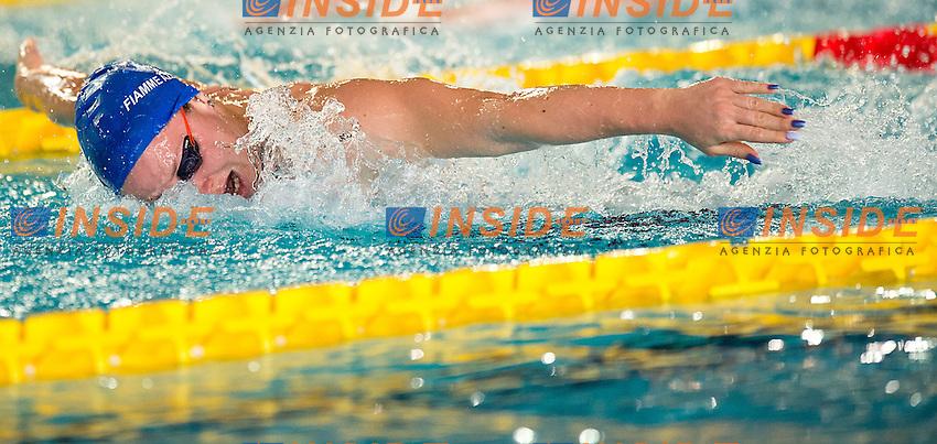 Ilaria Bianchi Fiamme Azzurre<br /> 100 farfalla donne<br /> batterie giorno 03<br /> Campionati Italiani Assoluti Nuoto Primaverili Fin UnipolSai<br /> Riccione Italy 14-18/04/2015<br /> Photo Giorgio Scala/Deepbluemedia/Insidefoto