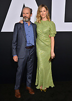 LOS ANGELES, CA. October 17, 2018: Judy Greer &amp; Toby Huss at the premiere for &quot;Halloween&quot; at the TCL Chinese Theatre.<br />