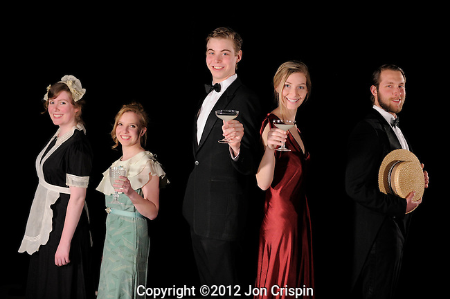 "Smith College Production of ""Private Lives"" publicity..©2012 Jon Crispin.ALL RIGHTS RESERVED....."