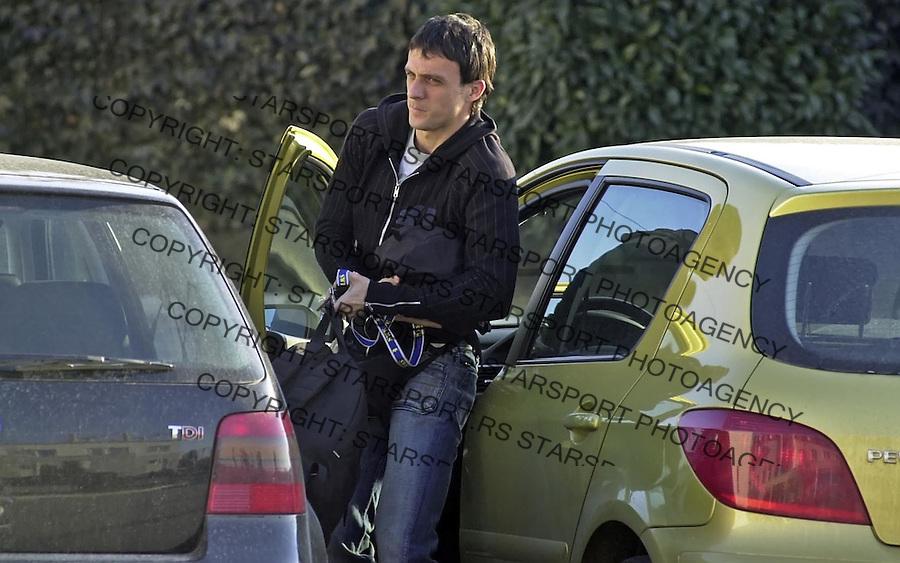 SPORT FUDBAL REPREZENTACIJA SCG TELEOPTIK ZEMUN TRENING OKUPLJANJE Djordjevic 21.3.2005. foto: Pedja Milosavljevic<br />