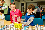 At the IT Tralee Kerry Science Festival on Saturday were Megan Noonan and Donnacha Noonan