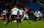 Paul Coutts of Sheffield Utd takes a shot during the Championship match at the Macron Stadium, Bolton. Picture date 12th September 2017. Picture credit should read: Simon Bellis/Sportimage