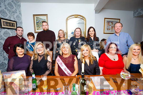 Helen Maunsell, Abbeydorney, celebrating her 50th Birthday with friends at Bella Bia;s on Friday