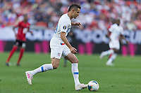 CLEVELAND, OHIO - Aaron Long JUNE 22:  during a 2019 CONCACAF Gold Cup group D match between the United States and Trinidad & Tobago at FirstEnergy Stadium on June 22, 2019 in Cleveland, Ohio.