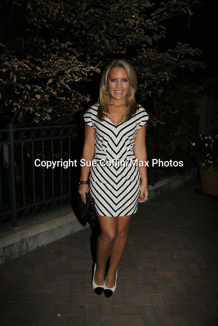 Kristen Alderson attends ABC Daytime Soap Casino Night with the Stars on October 28, 2010 at Guastavinos, New York City, New York. (Photo by Sue Coflin/Max Photos)