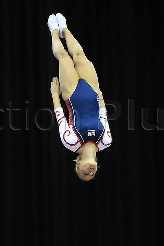 17.11.2011 Birmingham, England. Trampoline and Tumbling World Championships. Emma Smith GB