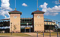 Ballparks: San Antonio, TX . Municipal Stadium, home of the Missions, 1995. Seats 6200.