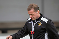 Newport County manager Graham Westley ahead of the Sky Bet League 2 match between Newport County and Carlisle United at Rodney Parade, Newport, Wales on 12 November 2016. Photo by Mark  Hawkins.