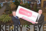 CANTILLON 2013: Launching the Cantillon 2013 a forum for fresh thinking on the economy and entrepreneurship at the Ballyseedy Home and Garden Centre on Saturday l-r: Eamon O'Reilly (CEO NEKD) and Oliver Murphy (president Tralee IT).