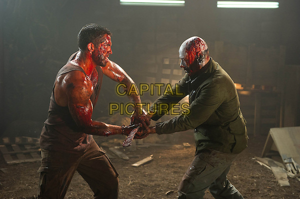 Scott Adkins & Jean-Claude Van Damme .in Universal Soldier: Day of Reckoning (2012).*Filmstill - Editorial Use Only*.CAP/FB.Supplied by Capital Pictures.