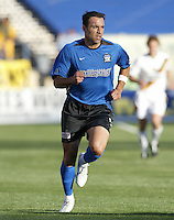 22 May 2004: Ramiro Corrales in action against Los Angeles Galaxy at Spartan Stadium in San Jose, California.   Earthquakes defeated Galaxy 4-2. Mandatory Credit: Michael Pimentel / ISI