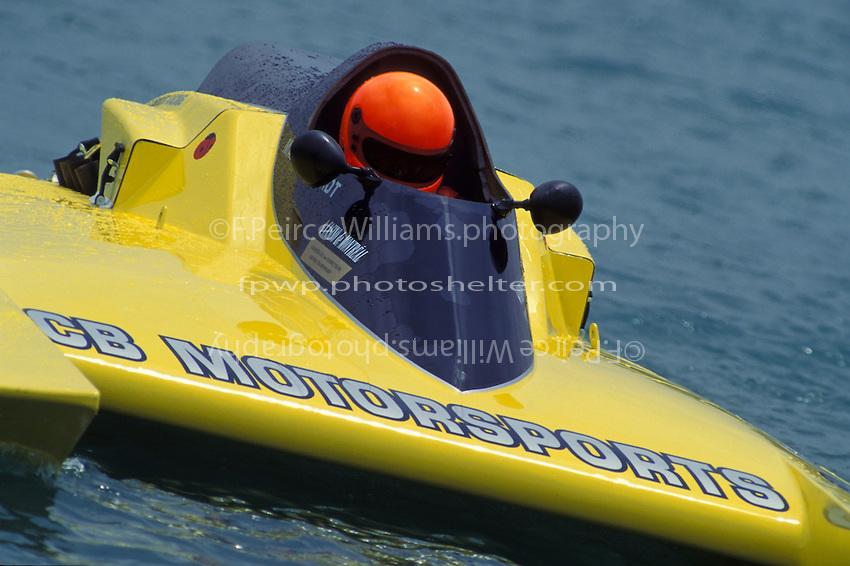"Mark Burghardt, GP-38 ""CB Motorsports"", Detroit 1995"