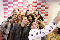 SAO PAULO, SP 11.02.2019 - COLETIVA-O-APRENDIZ-SP - Participantes do reality show durante coletiva de imprensa da nova temporada do programa 'O Aprendiz', no hotel Sheraton Sao Paulo WTC, zona sul da cidade de Sao Paulo nesta segunda-feira, 11. (Foto: Felipe Ramos / Brazil Photo Press / Folhapress)