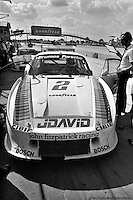 John Fitzpatrick and David Hobbs started the 1982 Sebring event from the front row in this Porsche 935, but an early accident left them with just a 65th place finish.
