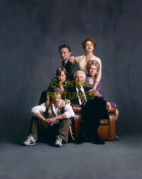 Clockwise from top left) MICHAEL DOUGLAS, BERNADETTE PETERS, DIANA DOUGLAS, KIRK DOUGLAS, CAMERON DOUGLAS, and RORY CULKIN as the Gromberg family in MGMÍs comedic IT RUNS IN THE FAMILY.Filmstill - Editorial Use Only.Ref: FB.sales@capitalpictures.com.www.capitalpictures.com.Supplied by Capital Pictures.
