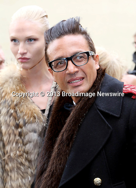 Pictured: Omar Harfouch, Elena<br /> Mandatory Credit &copy; AFFR/Broadimage<br /> Christian Dior:  Paris Fashion Week - Haute Couture S/S 2014 - Outside Arrivals<br /> <br /> 1/20/14, Paris, , France<br /> <br /> Broadimage Newswire<br /> Los Angeles 1+  (310) 301-1027<br /> New York      1+  (646) 827-9134<br /> sales@broadimage.com<br /> http://www.broadimage.com<br /> <br /> <br /> Pictured: Omar Harfouch, Elena<br /> Mandatory Credit &copy; AFFR/Broadimage<br /> Christian Dior:  Paris Fashion Week - Haute Couture S/S 2014 - Outside Arrivals<br /> <br /> 1/20/14, Paris, , France<br /> Reference: 012014_BDG_AFFR_DF_036<br /> <br /> Broadimage Newswire<br /> Los Angeles 1+  (310) 301-1027<br /> New York      1+  (646) 827-9134<br /> sales@broadimage.com<br /> http://www.broadimage.com