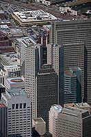 aerial photograph 345 California Center, Embarcadero Center San Francisco