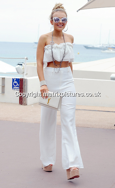 NON EXCLUSIVE PICTURE: MATRIXPICTURES.CO.UK<br /> PLEASE CREDIT ALL USES<br /> <br /> WORLD RIGHTS<br /> <br /> Scottish singer Tallia Storm attends the Cannes film festival at Palais des Festivals in Cannes, France.<br /> <br /> MAY 18th 2017<br /> <br /> REF: LTN 17998