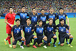 U-23 Japan team group line-up (JPN), AUGUST 4, 2016 - Football / Soccer : Men's First Round Group B between Nigeria 5-4 Japan at Amazonia Arena during the Rio 2016 Olympic Games in Manaus, Brazil. (Photo by YUTAKA/AFLO SPORT)
