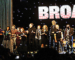 """One Life To Live Renee Elise Goldsberry who stars in """"Hamilton"""" on Broadway One Lfe To Live Kerry Butler, Tommy Tune, Anthony Rapp, Ben Vereen at opening ceremonies - all attending the first ever 3-day Broadway Con on January 22 - 24, 2016 at the Hilton Hotel, New York City, New York. (Photo by Sue Coflin/Max Photos)"""