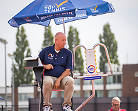 Amstelveen, Netherlands, 1 August 2020, NTC, National Tennis Center, National Tennis Championships, Umpire Rob Mulder (NED)