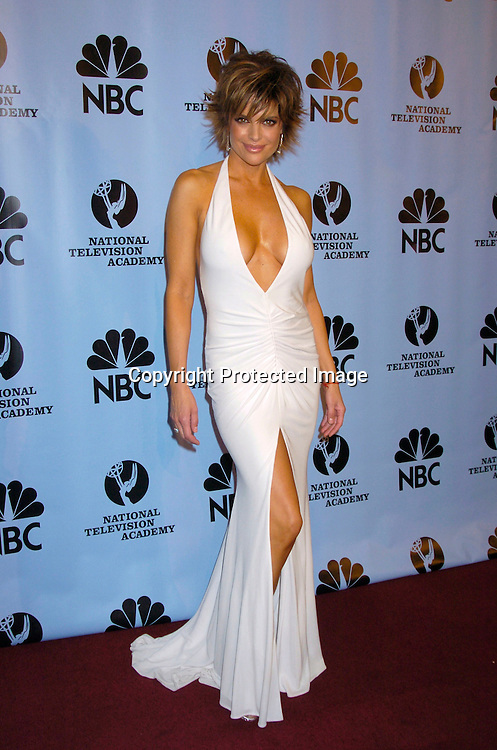 Lisa Rinna ..at the Daytime Emmy Awards on May 21, 2004 in the Press Room at Radio City Music Hall...Photo by Robin Platzer, Twin Images
