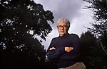 James Lovelock portrait. Gaia hypothesis author, scientist, environmentalist, futurist UK 1990s